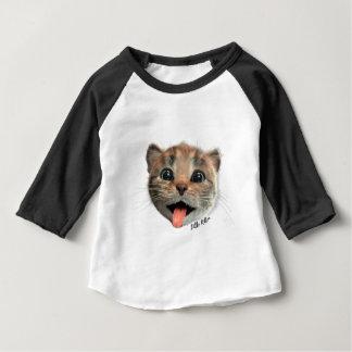 Little Kitten Licks - Sleeve Raglan T-Shirt