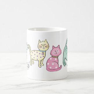 Little Kitties Basic White Mug