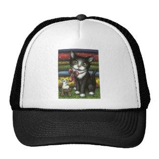 Little Kitty at the Tailor's Trucker Hats