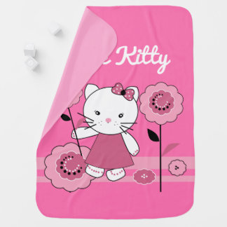 Little Kitty Baby Blanket