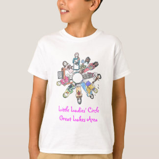 Little Ladies' Circle - Great Lakes Area T-shirt