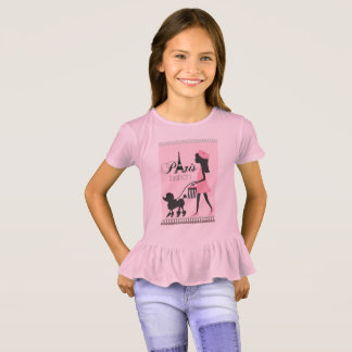 Little lady in Paris T-Shirt