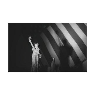 Little Lady Liberty Canvas Print