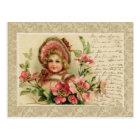 Little Lady Vintage Reproduction Postcard