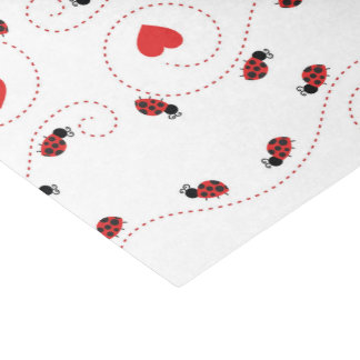 Little ladybug pattern party tissue tissue paper