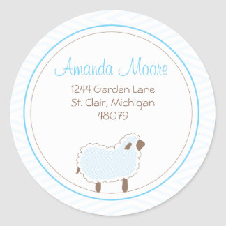 Little Lamb Address Label