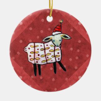 Little Lamb Christmas Tree Ornament