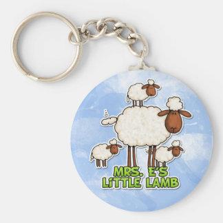 little lamb keychain