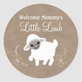Little Lamb Sticker
