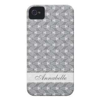 Little Leaf BlackBerry Bold Case-Mate Barely There Case-Mate iPhone 4 Cases