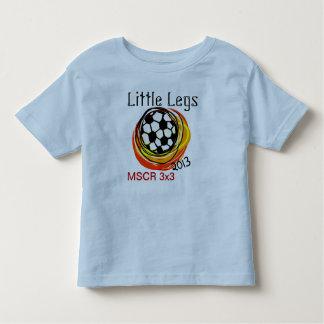 little legs soccer toddler T-Shirt