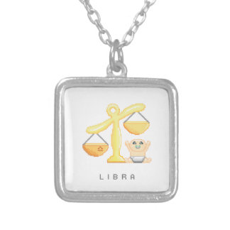 Little Libra Silver Plated Necklace
