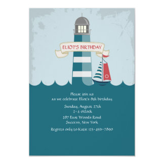 Little Lighthouse Invitation