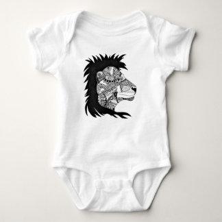 Little Lion Baby Bodysuit