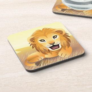 Little Lion Coasters (set of 6)