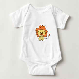 Little lion design baby bodysuit