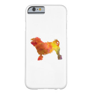 Little Lion Dog in Watercolor Barely There iPhone 6 Case