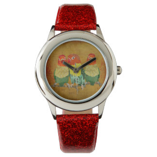 Little Love Birds Watch