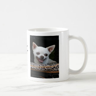 Little Lover White Chihuahua Mug