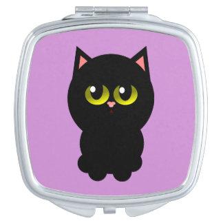 Little Lucky Black Cat Makeup Mirrors