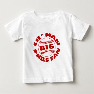 Little Man BIG Phils Fan Baby T-Shirt