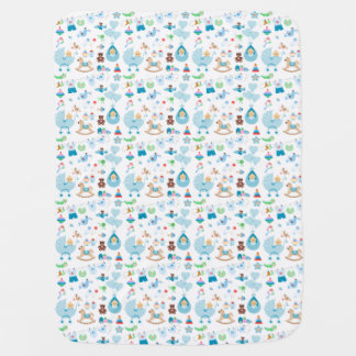 Little Man Collection Baby Blanket