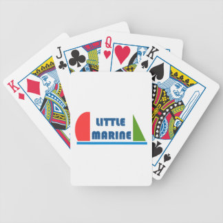 little marine bicycle playing cards