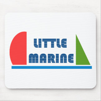 little marine mouse pad