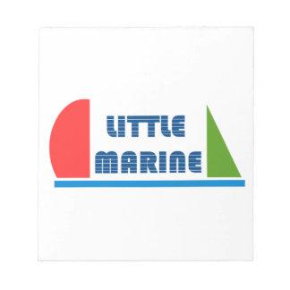 little marine notepad