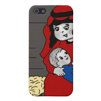 Little Mary and Jesus iPhone 5 Case