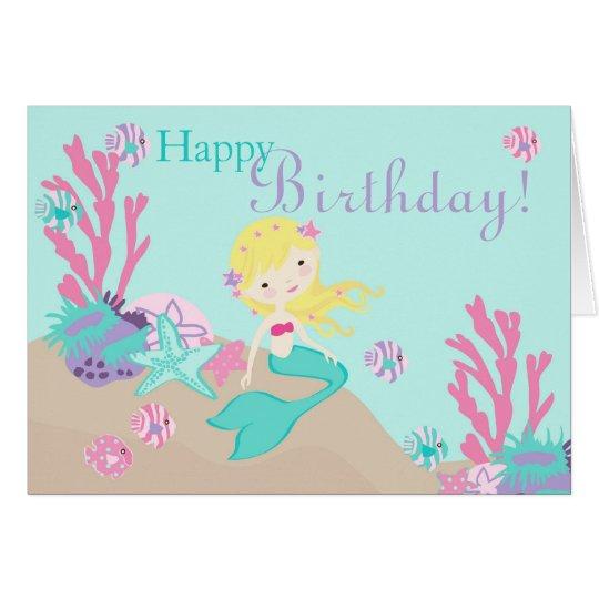 Little Mermaid Card 2C Blonde