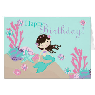 Little Mermaid Card 2C Brunette