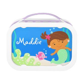 little mermaid lunch box