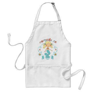 Little Mermaid Toddler Baby Standard Apron