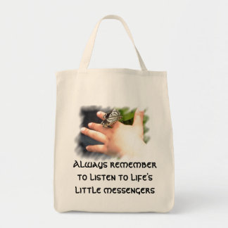 Little Messengers Grocery Tote Grocery Tote Bag