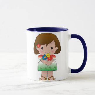 Little Mexican Girl Mug
