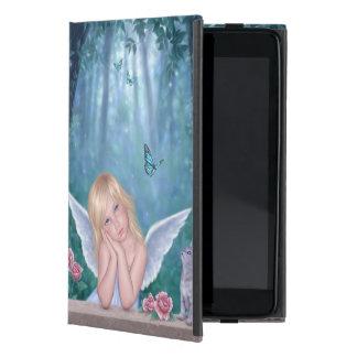 Little Miracles Cute Angel & Kitten iPad Mini Case