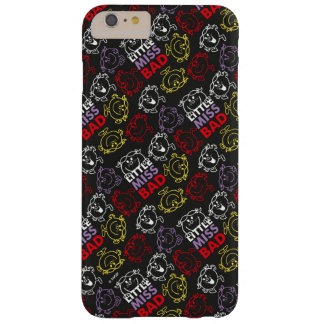 Little Miss Bad | Black, Red & Yellow Pattern Barely There iPhone 6 Plus Case