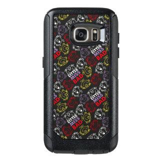 Little Miss Bad | Black, Red & Yellow Pattern OtterBox Samsung Galaxy S7 Case