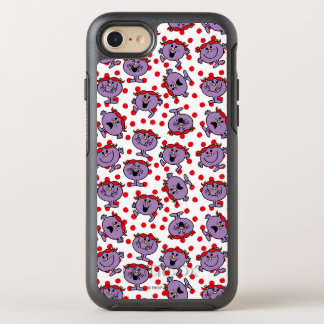 Little Miss Bad | Red Polka Dot Pattern OtterBox Symmetry iPhone 8/7 Case