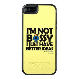 Little Miss Bossy Has Better Ideas OtterBox iPhone 5/5s/SE Case