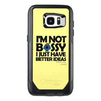 Little Miss Bossy Has Better Ideas OtterBox Samsung Galaxy S7 Edge Case