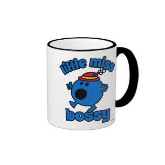 Little Miss Bossy On The Move Ringer Mug