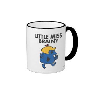 Little Miss Brainy On The Move Ringer Mug