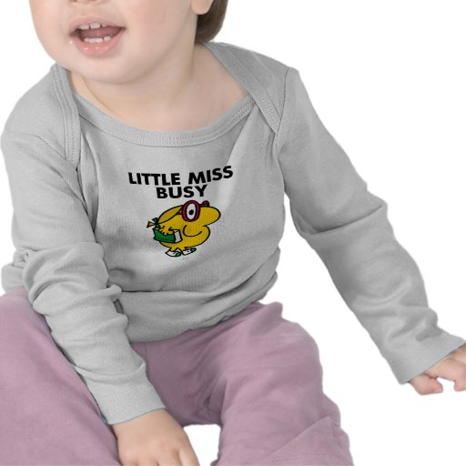 Little Miss Busy Classic Tee Shirts