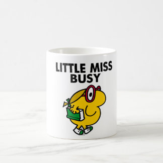 Little Miss Busy | Reading Time Basic White Mug