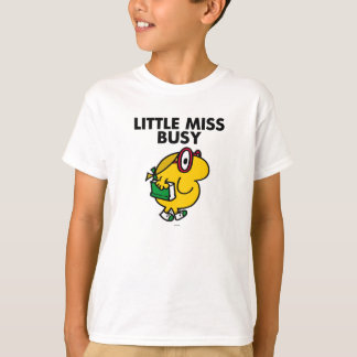 Little Miss Busy | Reading Time T-shirts