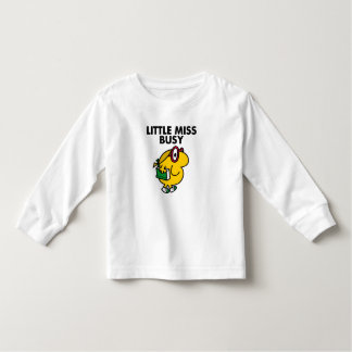 Little Miss Busy   Reading Time Tshirts
