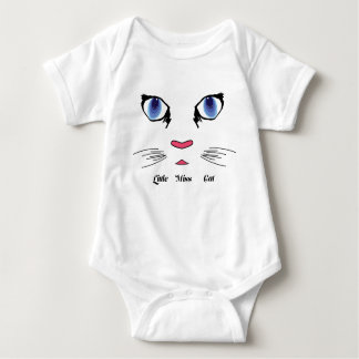 Little Miss Cat Baby Infant Creeper