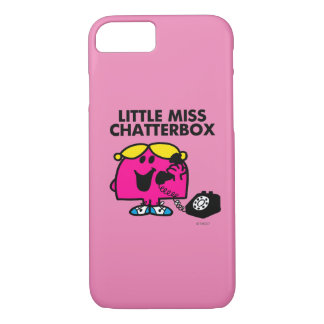 Little Miss Chatterbox & Black Telephone iPhone 7 Case